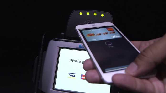ちょー簡単!iPhone 6のApple Pay (Pay) でモバイル決済する様をおさめた動画。