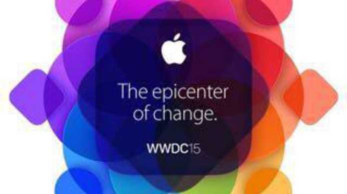 WWDC 2015の基調講演の開催日は、6月9日 午前2時から。