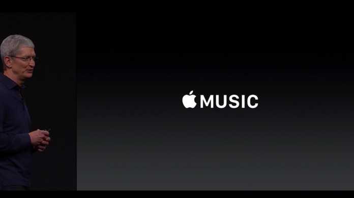  Apple MUSICが発表!料金は月9.99ドル(日本円で約1,251円)