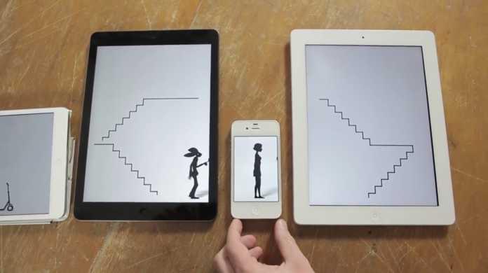 いくつものApple製品を繋げて一つのミュージックビデオにした動画が凄い。