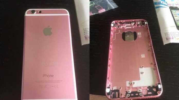 iPhone 6sに追加されると噂のピンクな新色「ローズゴールド」はこんな風貌?