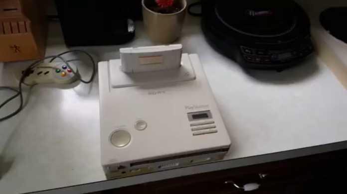 任天堂xソニー幻のタッグ。これがあのプレイステーション零号機!?