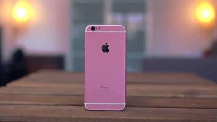 iPhone 6sの噂の新色「ピンク」を超精巧に造ったAndroidの開封ビデオが登場。