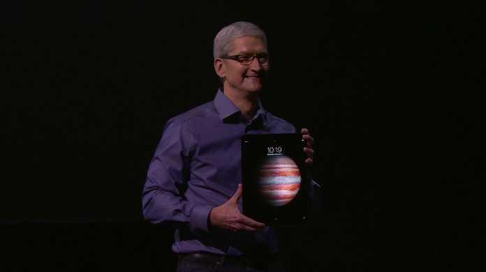 【速報】iPad Proが登場!スタイラスとキーボードケースも付録!価格は$799から!発売日は11月。