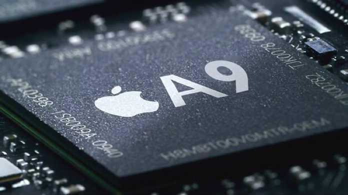 iPhone6sの頭脳のA9。6に比べて60%も高速化。