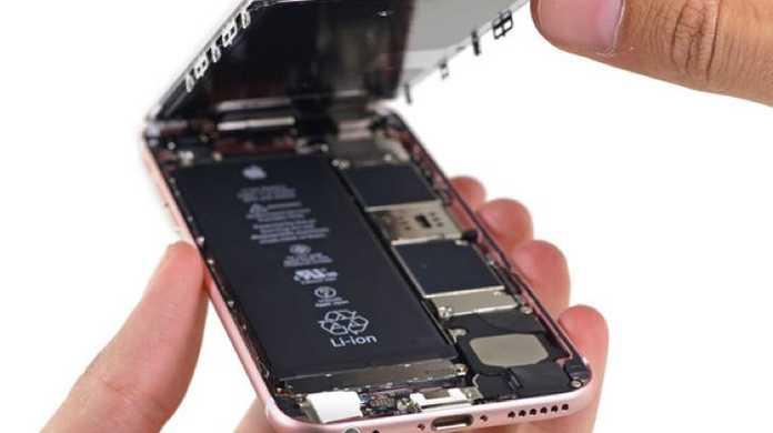 iPhone6s/6sPlus、早くもバラバラに分解される。