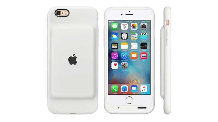 えっ!?非常にボコッとした純正バッテリケース!iPhone 6s Smart Battery Caseが登場!