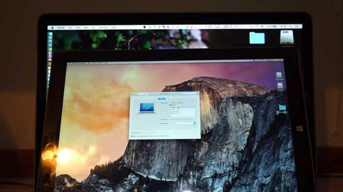 夢のタブレット!SurfaceにMac OS Xがインストールされている魔改造動画!