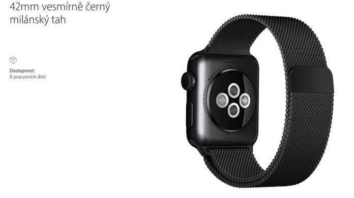 Apple Watchのミラネーゼループに新色「スペースグレー」が登場。ただし、チェコ・ポルトガル・ハンガリーのみ。