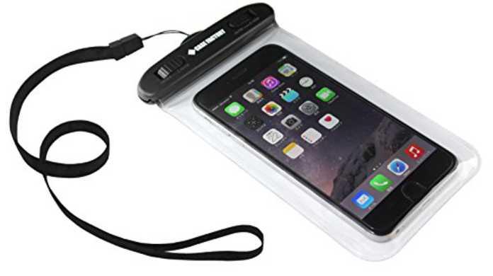 【最安値】半身浴にどう?iPhone 6/6s/Plusをお風呂の中で使える防水ケース「CASE FACTORY 防水ケース AQUA MARINA」レビュー