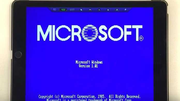Windows 1.0がiPad Air 2で躍動するッッ!
