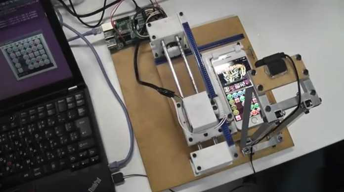 コンボコンボコンボ!なんと全自動でパズドラをすらすら解くロボット爆誕!