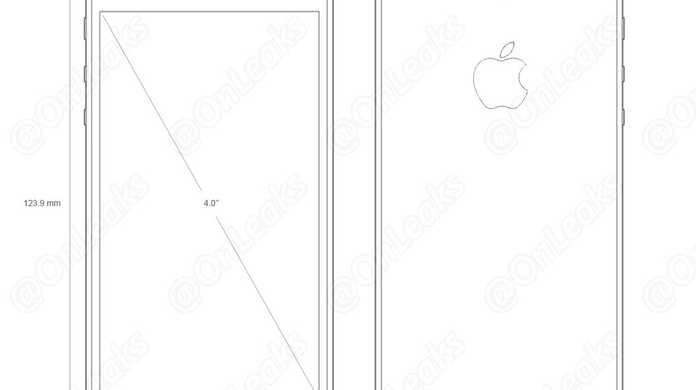 iPhone 5seの図面が流出か。