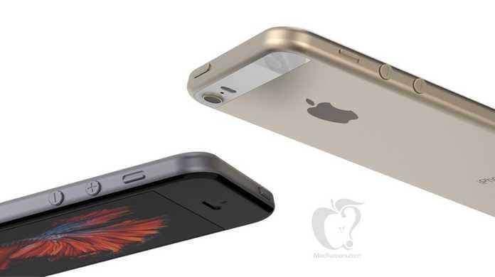 iPhoneSEはこんなカタチ?