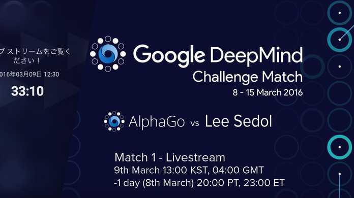 【囲碁】本日12時30分より、Googleの人工知能「AlphaGO」と世界最強「イ・セドル」氏の対局が開始。