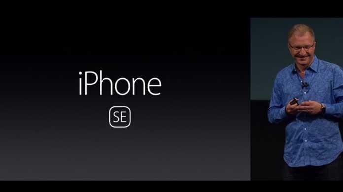 【速報】新しい4インチ「iPhone SE」が発表!価格は399ドル(約4.45万円)から。