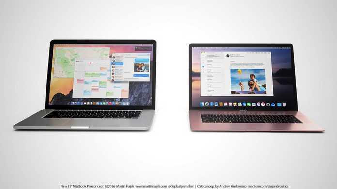 超薄型!?新型「MacBook 15インチ」のデザインはこんな感じ?