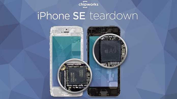 iPhone SEはさっそく分解されました。マジか。