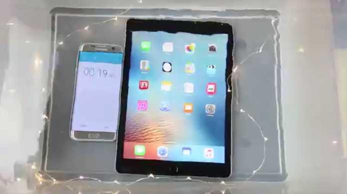 「iPad Pro '9.7を水没させる。」結果は。。。