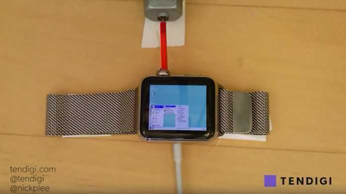 【スゴイ】Apple WatchでWindows 95を起動させたった