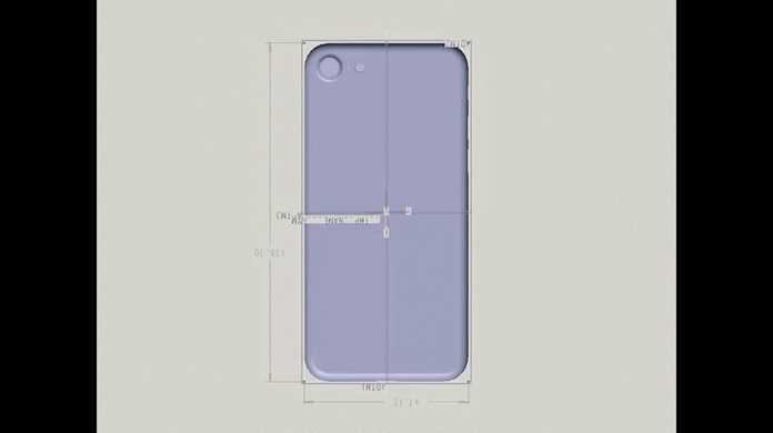 iPhone 7の図面がリークか?iPhone 6sとサイズは変わらず。