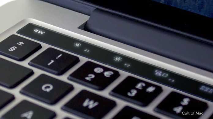 う、美しい。噂の新しいMacBook Proのファンクションキーのタッチスクリーンはこんな風になる?