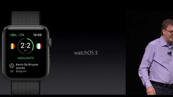 watchOS 3が発表。起動速度が7倍に。