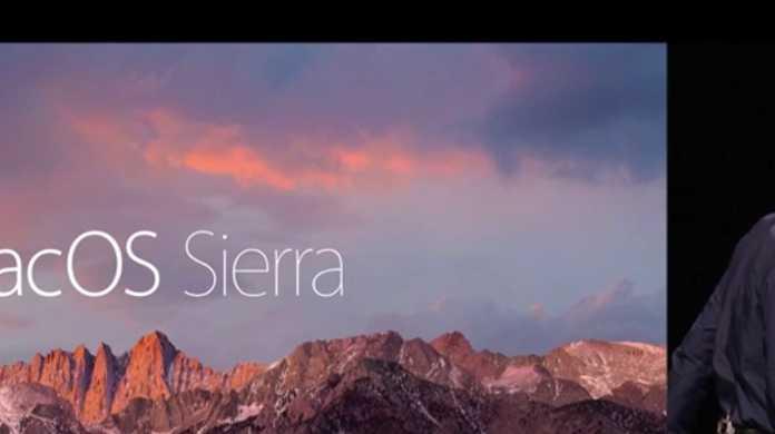 新しいOSの名前は「macOS Sierra」7つの新機能をご紹介。Universal Clipboardは早く使いたいなぁ。