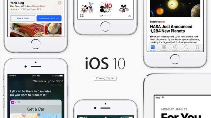 iOS 10 / macOS Sierra / watch OS 3 / tvOSの新機能をざっくり確認できるプレビューぺージが公開。