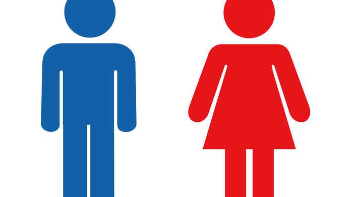 トイレの標識の謎。なぜ男は青色で、女は赤色なのか?