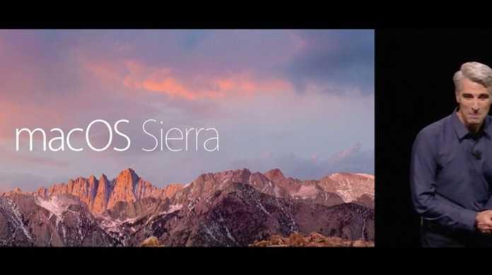 macOS Sierraのリリースは2016年10月か?