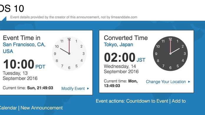 【日本】iOS 10は2016年9月14日午前2時からリリース予定。
