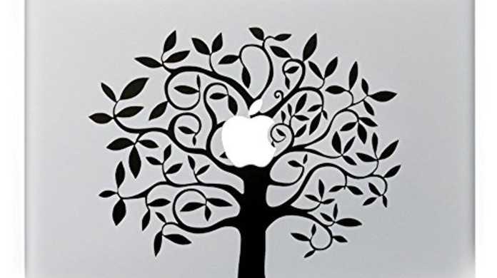 【セール】MacBookのAppleロゴをリンゴの木に彩れるデカールが78%オフで499円など。本日のアップル関連のセール商品47個まとめ。