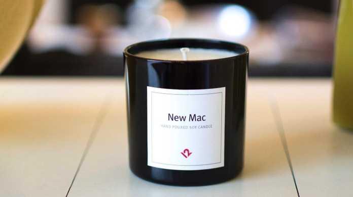 あれはいいものだ!新品のMacを開封した時の匂いがするキャンドル「New Mac Candle」