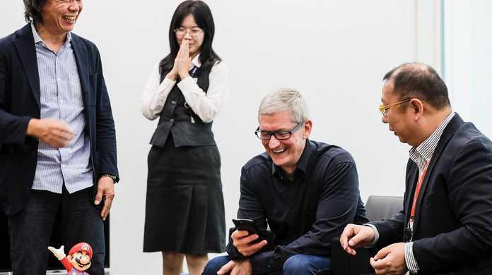 AppleのCEO、ティム・クック氏「日本上陸」- 任天堂を訪問や表参道を散策。