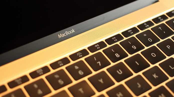 将来のMacBookも、電子インクによって自在にキーボードの印字を変更できるようになるかもしれない。