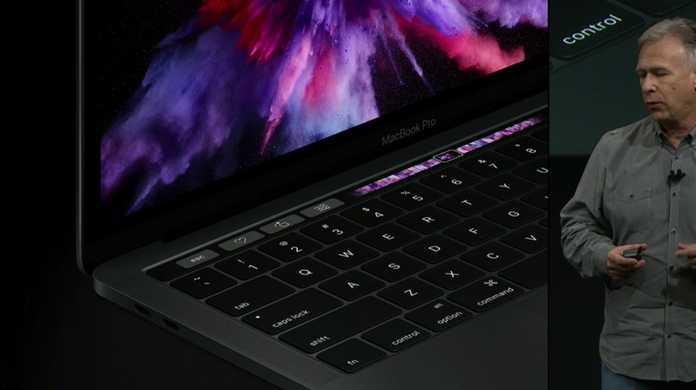 【速報】新しいMacBook Pro 13/15インチが登場。タッチスクリーンのファンクションキー「Touch Bar」を搭載。