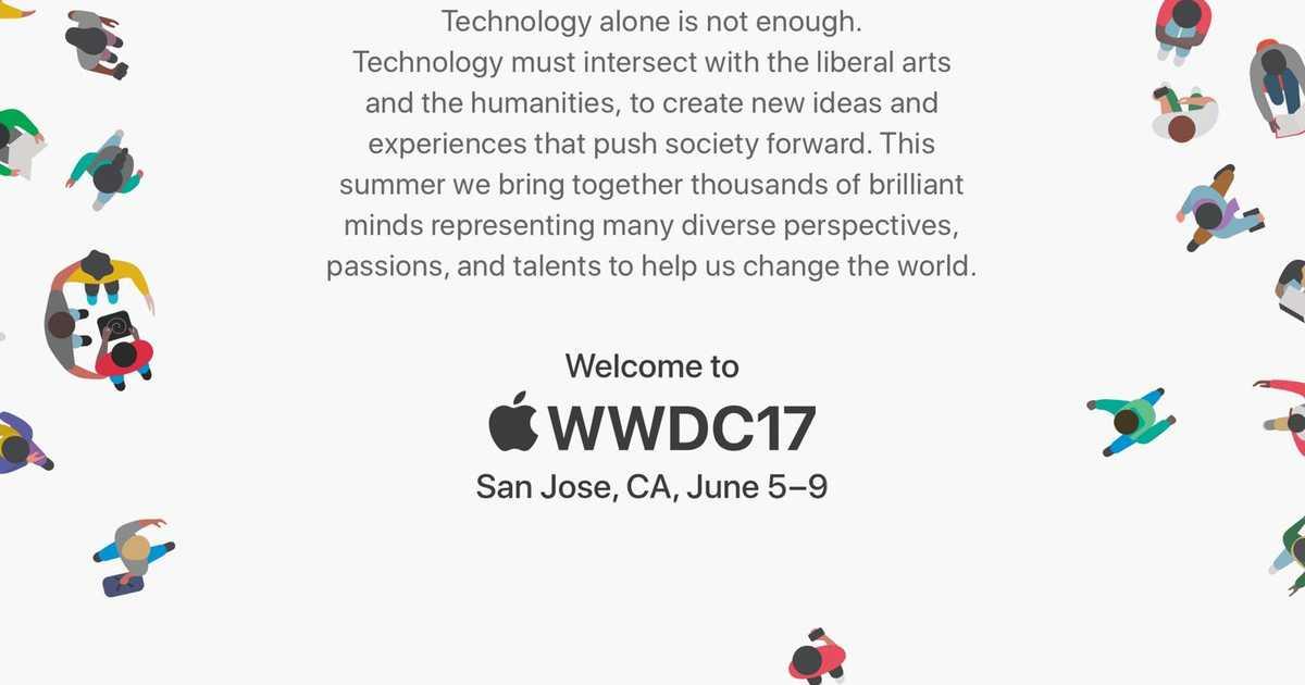 Apple、開発者の祭典「WWDC 2017」を2017年6月5日〜9日にかけて開催することを発表。