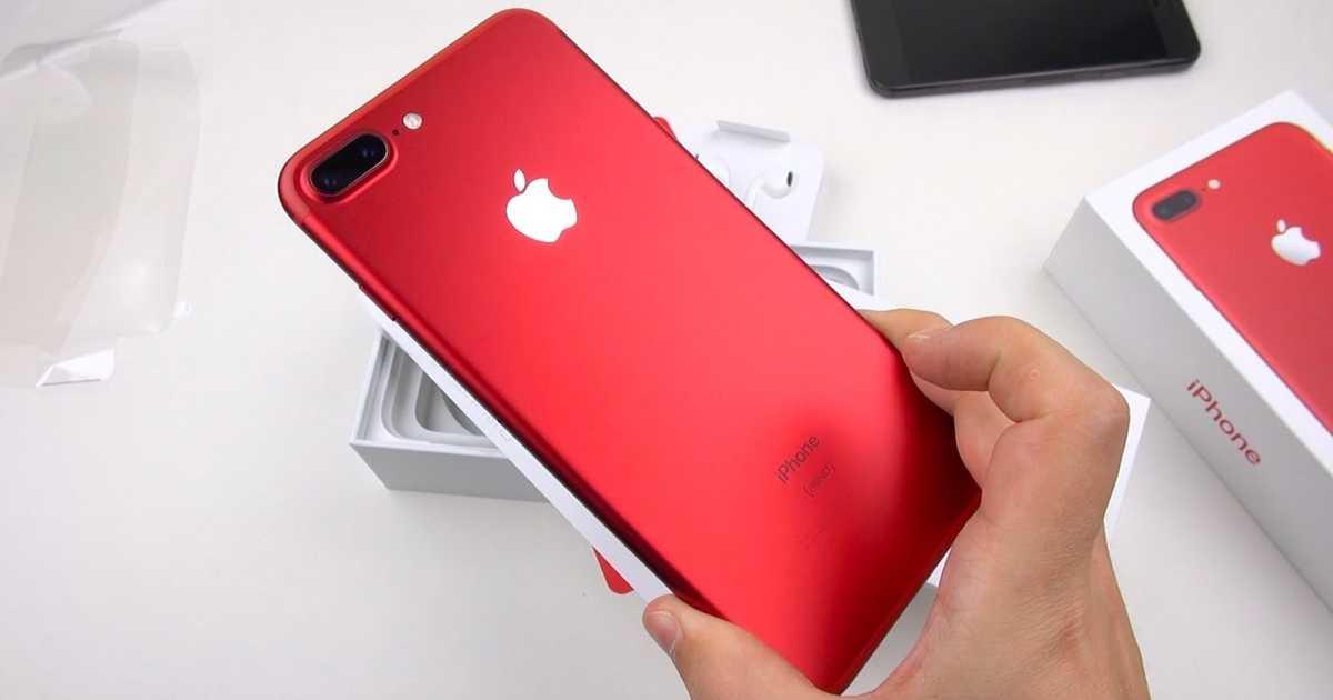 深みのある赤色につい見惚れる・・・。iPhone 7 / 7 Plus  (PRODUCT)REDの箱の中身がわかる動画2つ。