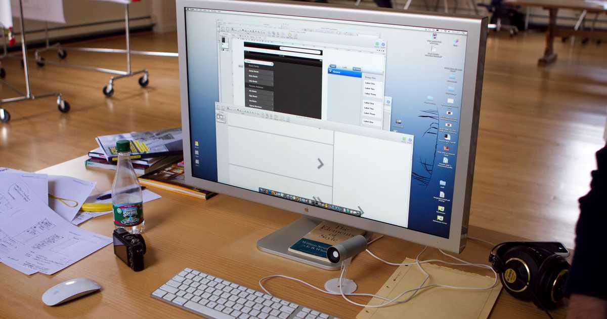 ついにAppleブランド  の新ディスプレイ登場へ。- もちろん5KやRetinaだよなぁ。