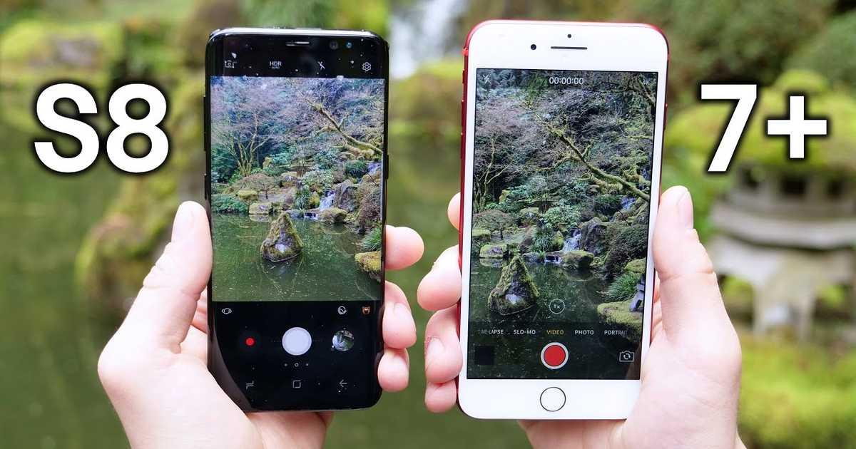 【比較動画】Galaxy S8 と iPhone 7 Plus のカメラ性能の差とはいかに?