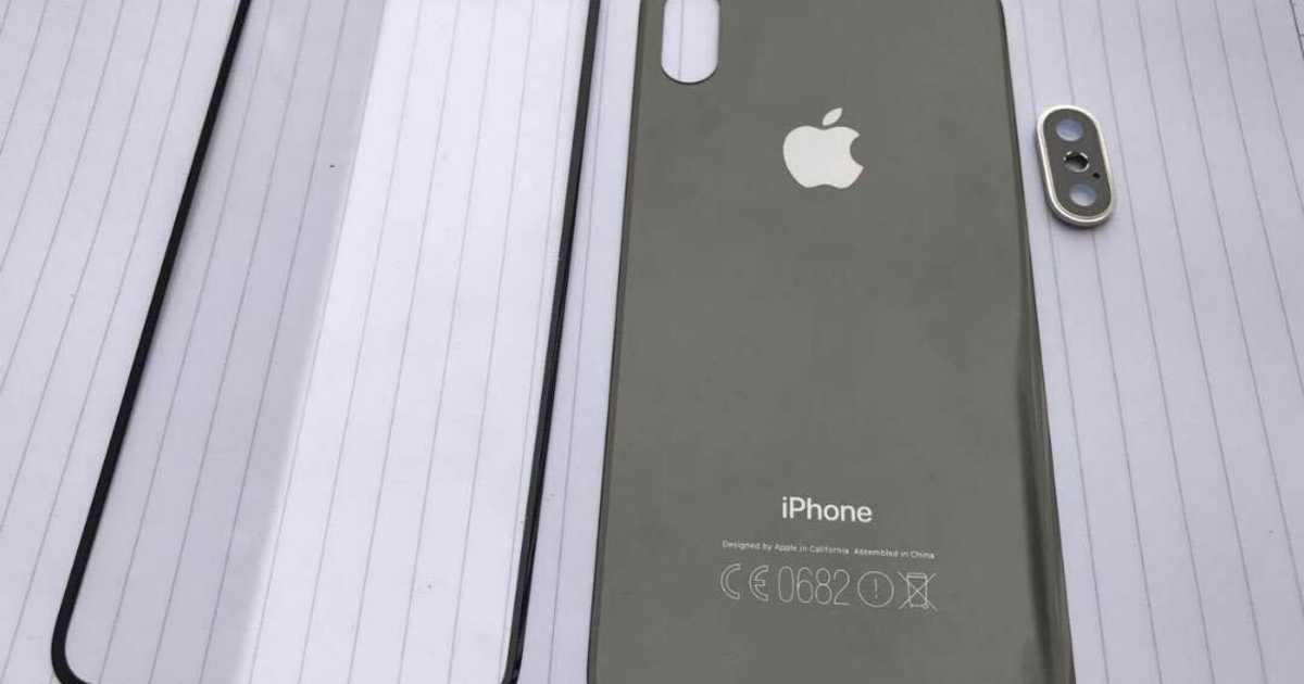 新しいiPhone 8の部品画像がリーク。やはりフロントカメラに特徴ありか。