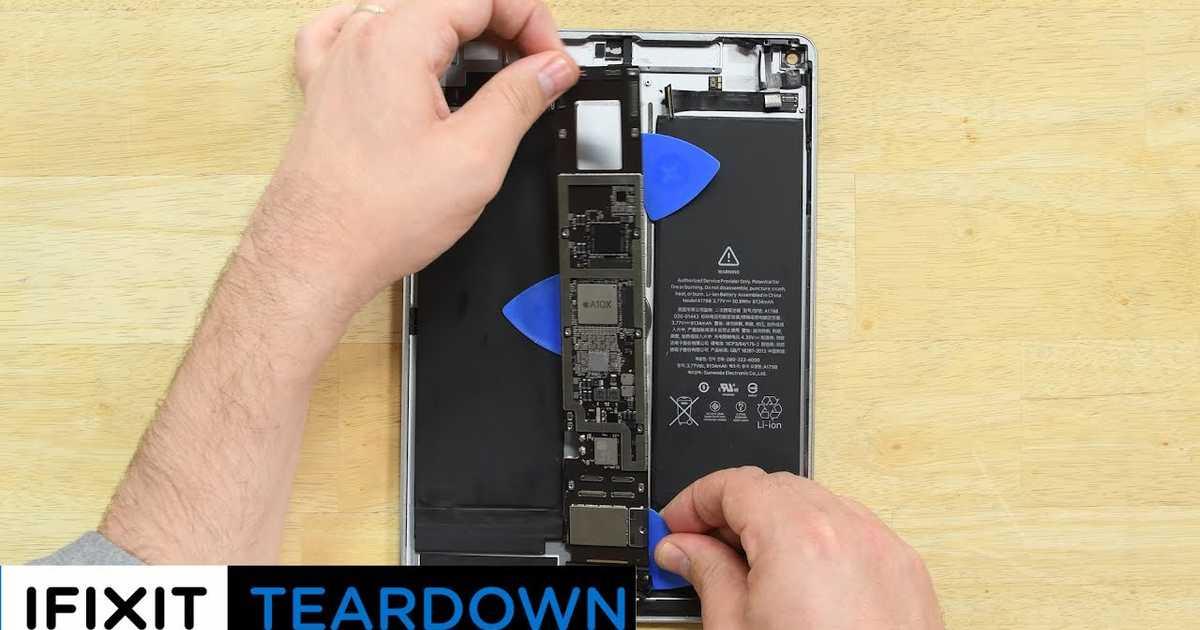 新しいiPad Pro 10.5インチ、早くもバラバラに分解される。