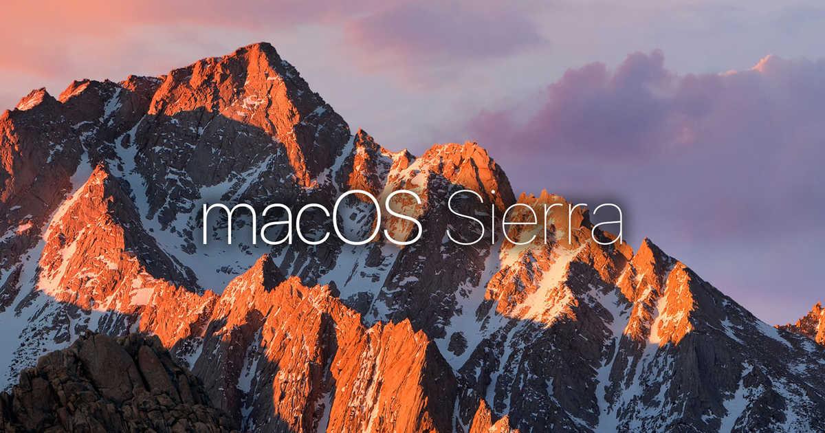 macOS Sierra 10.12.6がリリース。Macのセキュリティ、安定性、互換性が改善。iTunesも合わせてアップデート。
