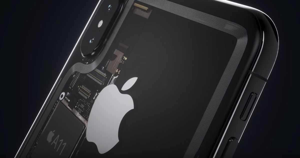 【動画】思わず生唾を飲み込む美しさ。iPhone 8が透明ガラスで覆われてたとしたら。