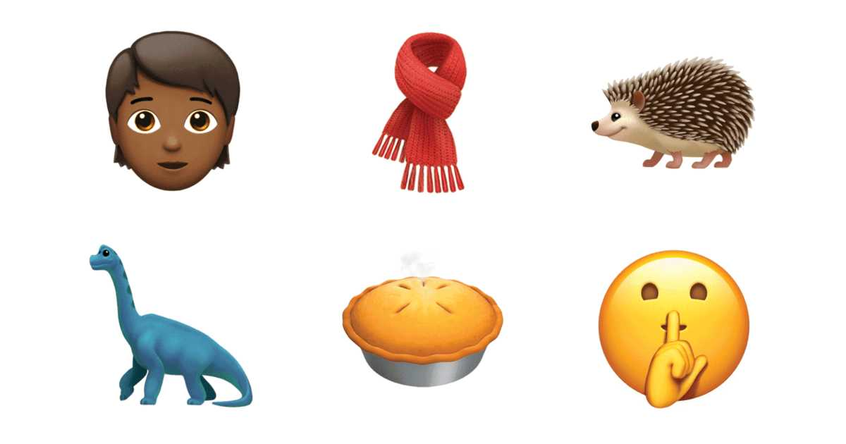 Apple、iOS11.1に新しい絵文字を数百個追加することを発表。