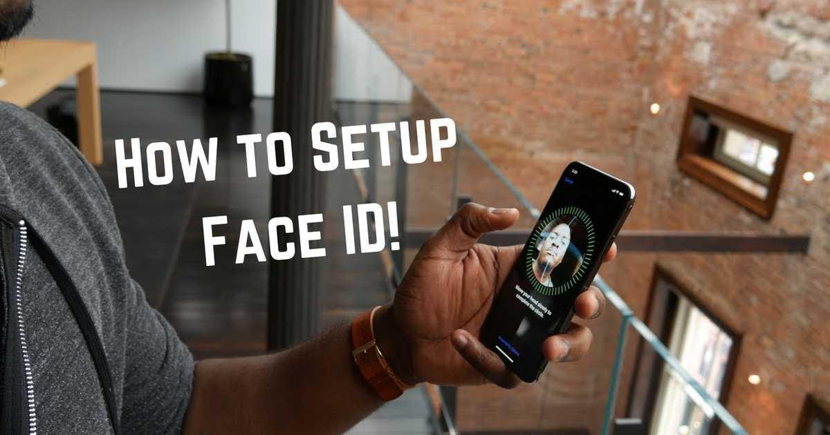 iPhone XのFace IDの設定手順がわかる動画。