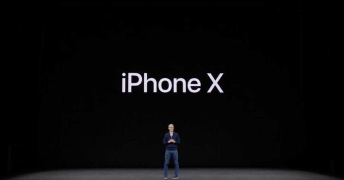Apple、iPhone Xを発売開始。