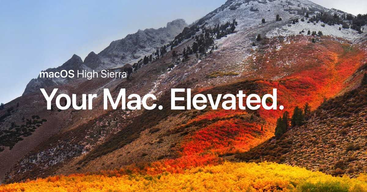 【Mac】macOS High Sierra 10.13.2とiTunes 12.7.2がリリース。