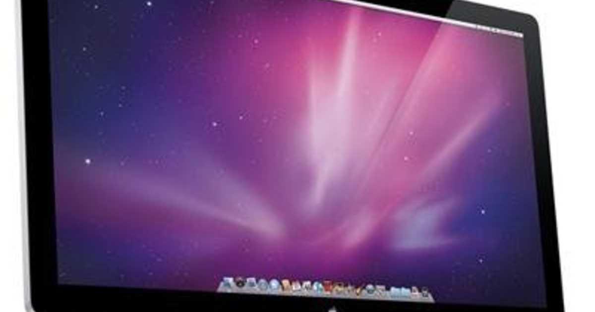 やはり出るって!Apple純正ディスプレイは開発中の模様。